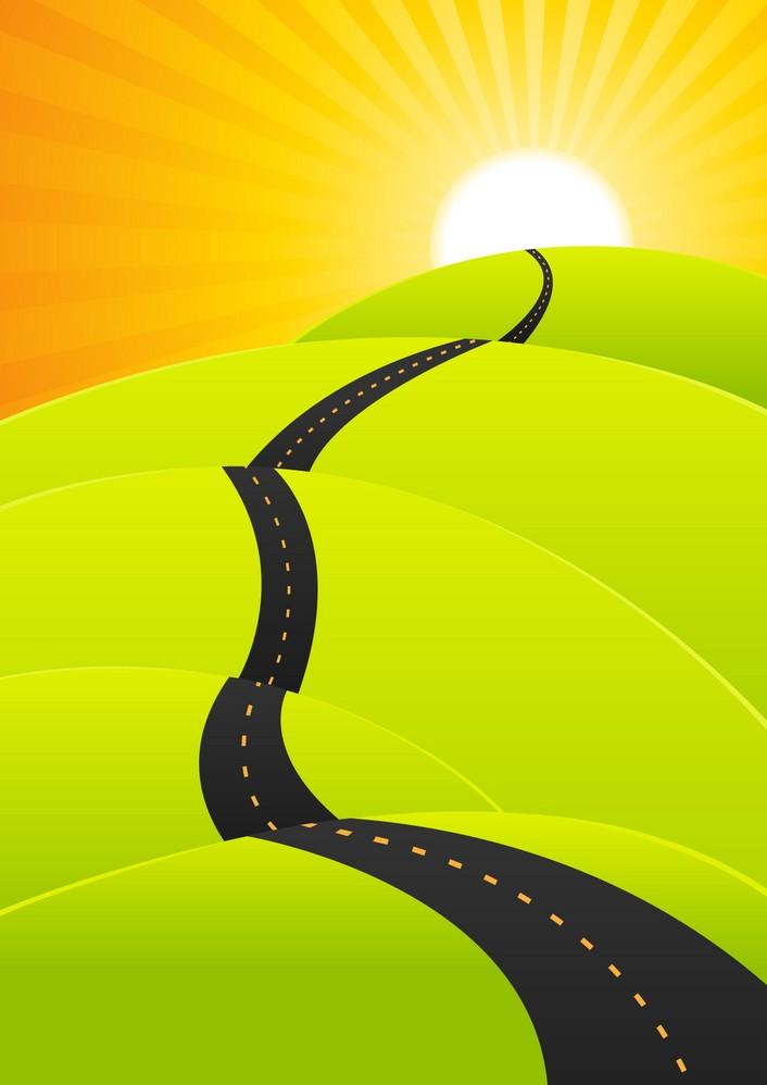 summer-travel-long-road-journey-vector-17019485