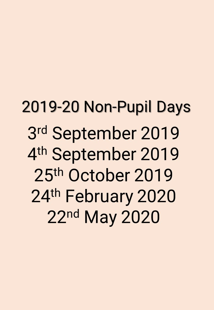 Non Pupil Days 18-19