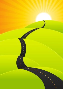 summer-travel-long-road-journey-vector-17019485